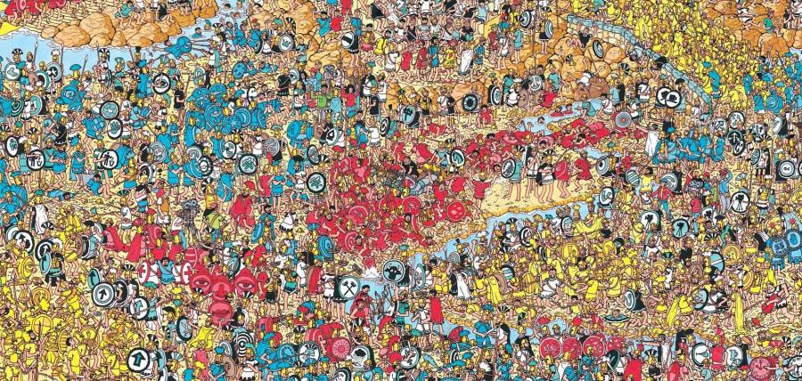 Найди Вальдо