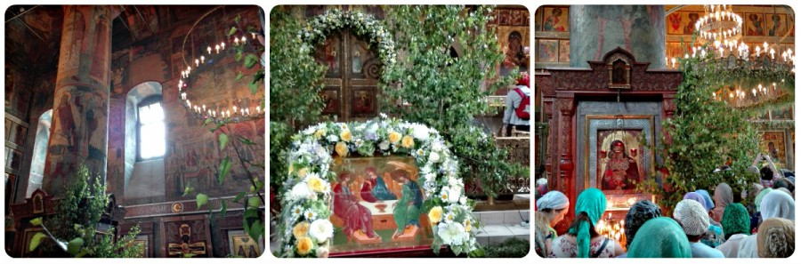 19.06.2016 - Троица в Сретенском монастыре