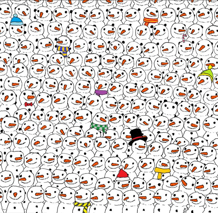 Найди панду.