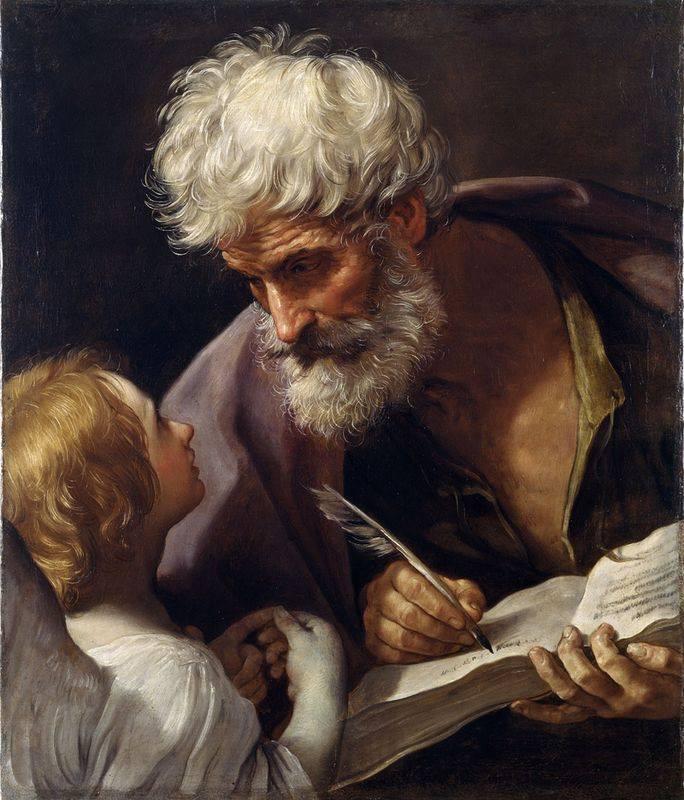 Гвидо Рени. Святой Матфей и ангел. Ок. 1620