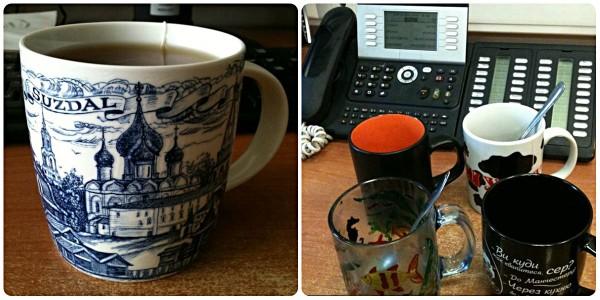 офисные чашки