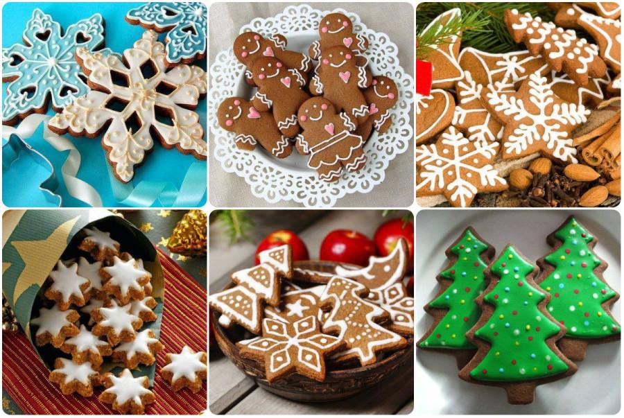 новогодние печенье