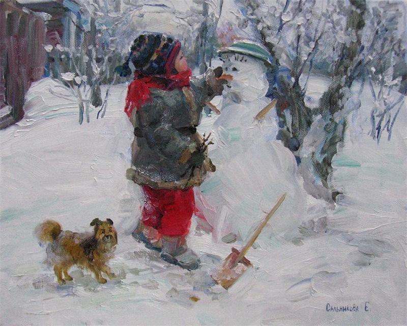 НГ - снеговик