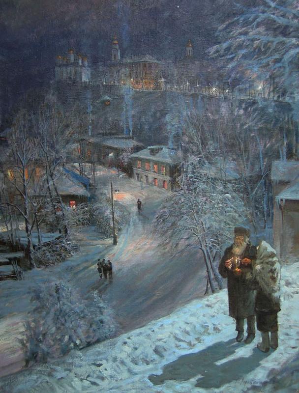 Виктор Лукьянов - Рождество, 2001