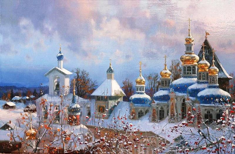 В.Жданов Зима
