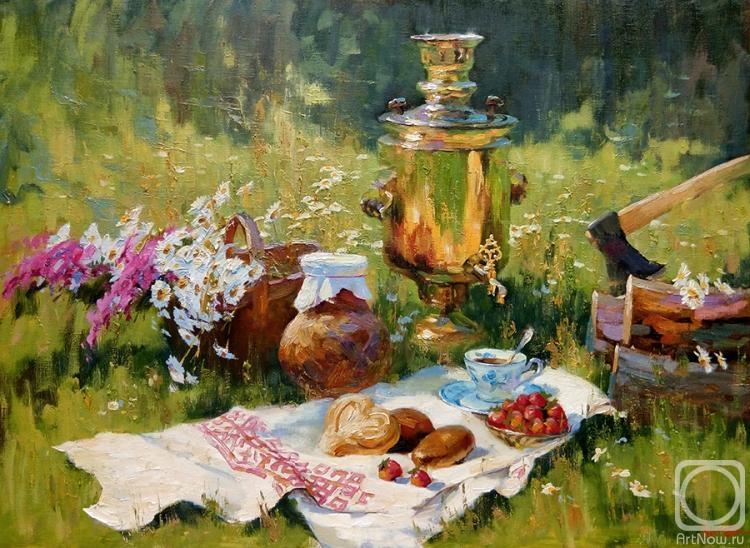 4.Нестерчук Степан. Чай с клубникой.