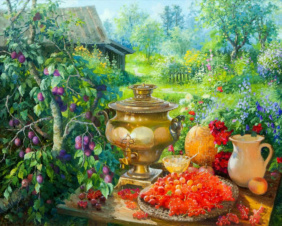 Жданов Владимир. В саду