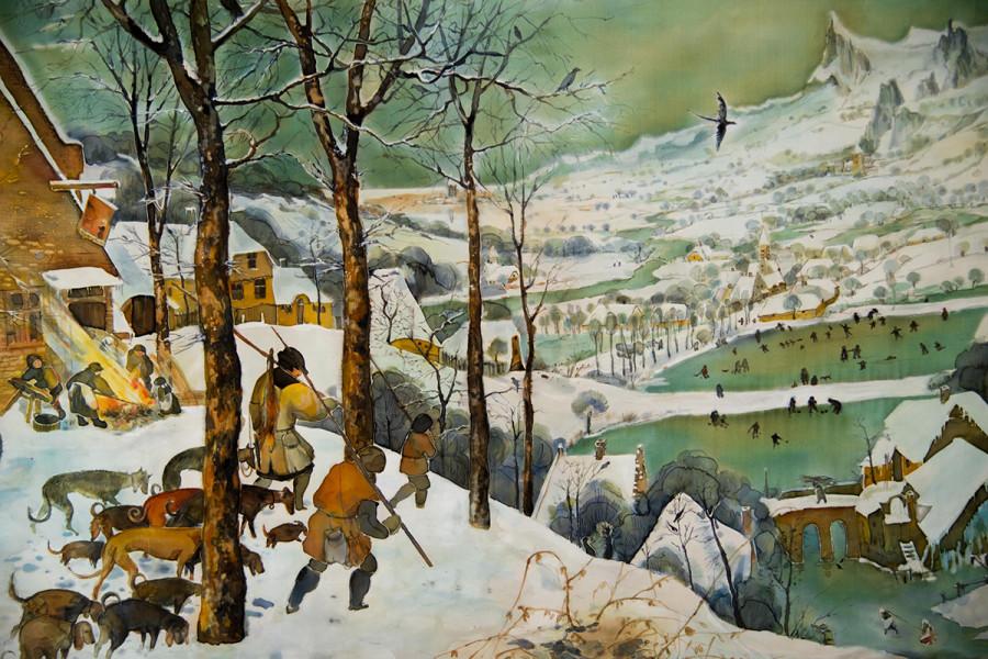 1.Охотники на снегу. Зима. 1565