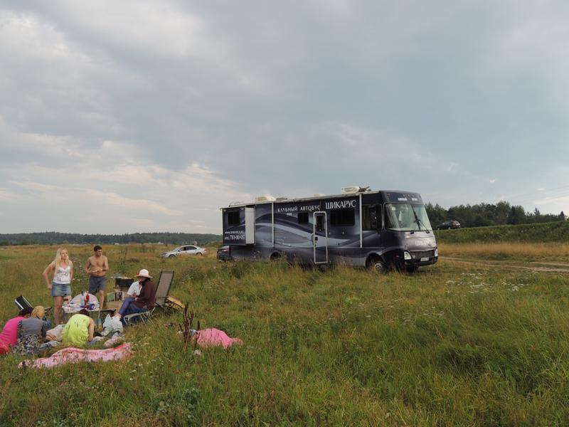 парковка на Васильевском озере