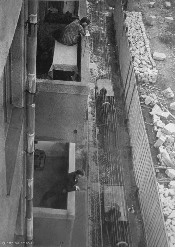 Вид с балкона квартиры Ильи Ильфа.