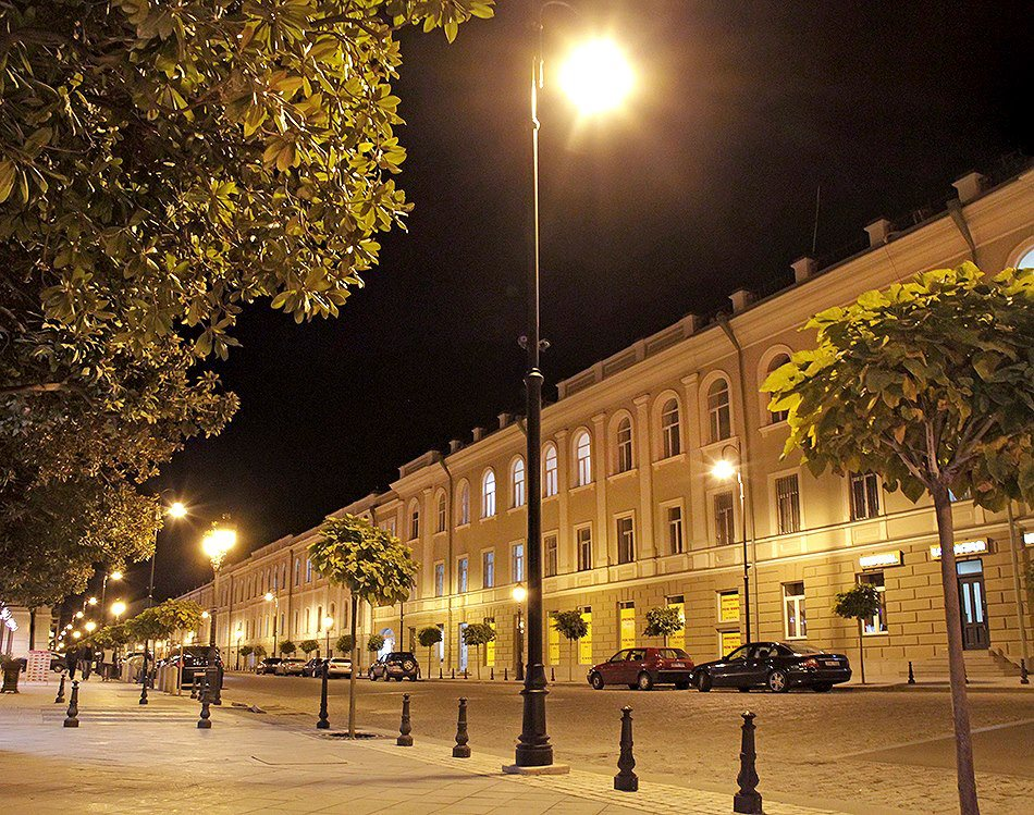реконструкция Тбилиси Саакашвили