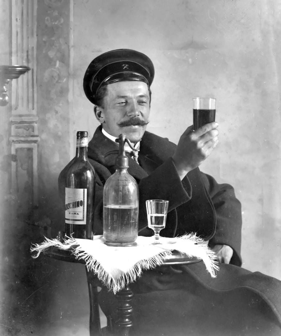 Одесский железнодорожник, начало ХХ века