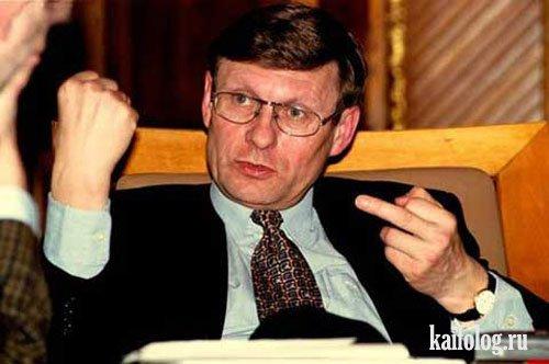 Депутат Госдумы жестикулирует