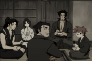 Ep 7 Old Timey Shinsengumi Photo...Back When They Were Optimistic