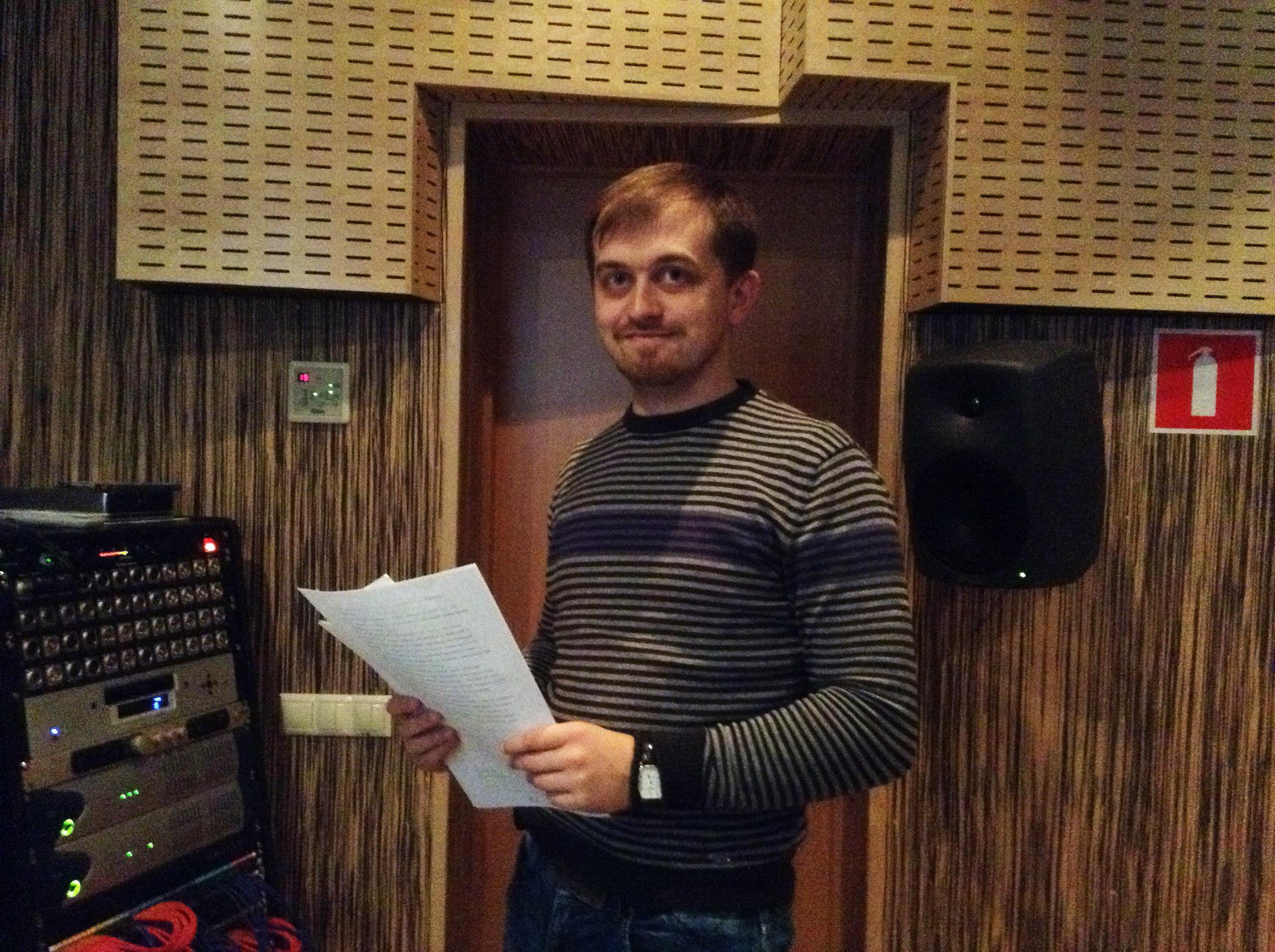 Автор сценария фильма, Станислав Гнездилов