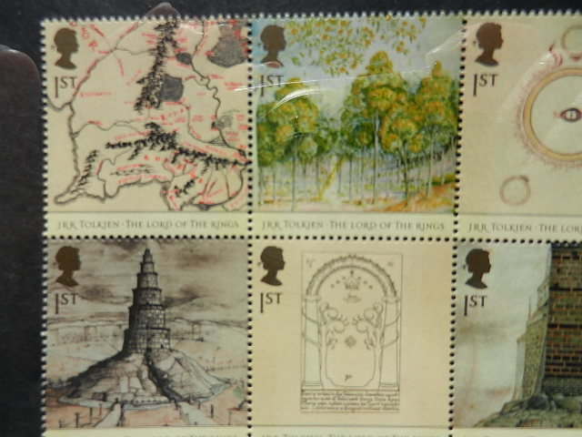 Tolkien stamps