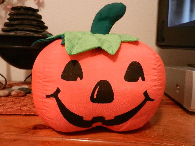 plush pumpkin