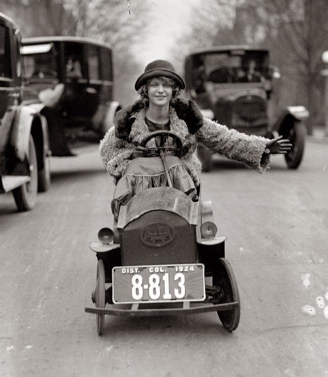 January 29, 1924. Miss Mary Bay