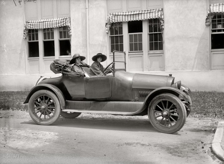 Washington, D.C., circa 1919. Eleanor Taylor Marsh and Florence Brewer Boeckel of the National Woman's Party.