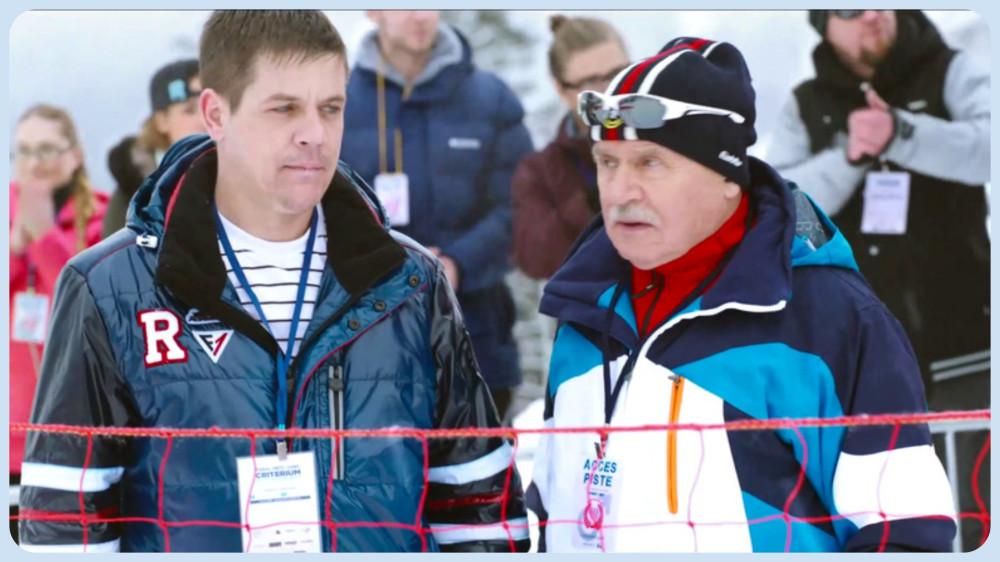 «Со дна вершины» 2017 (слева - реальный Алексей Мошкин)