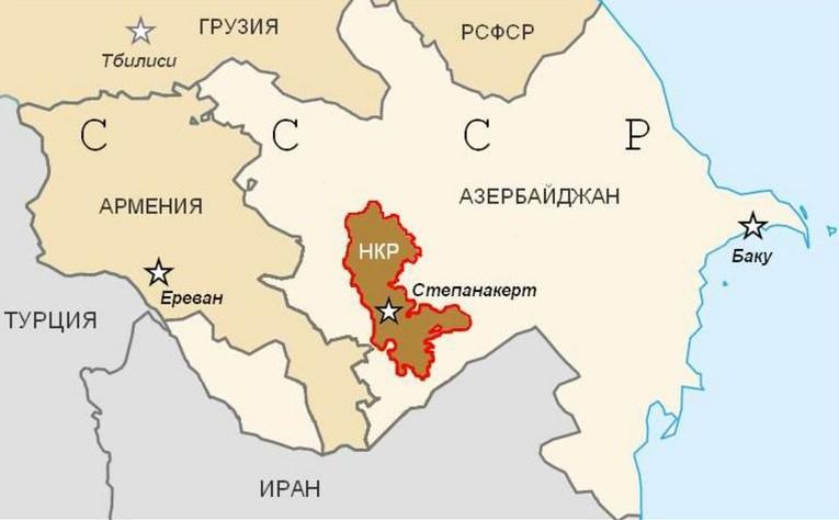 С 1921 года Нагорный Карабах (НКР) - широкая автономия в составе Азербайджанской ССР