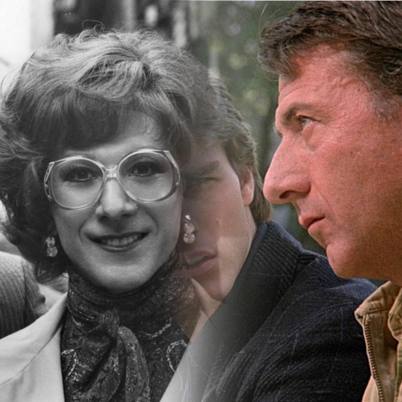 "Дастин Хоффман: ""Тутси"" 1982, ""Человек дождя"" 1988"
