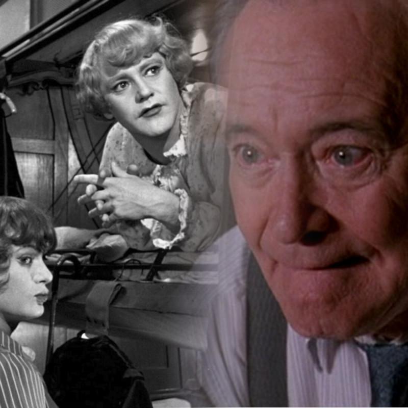 """Джек Леммон: """"В джазе только девушки"""" 1959, """"Американцы (Гленгарри Глен Росс)"""" 1992Конечно, здесь двое переодетых мужчин, но для меня лучший женский образ, однозначно, тот, у кого есть отдельные недостатки"""