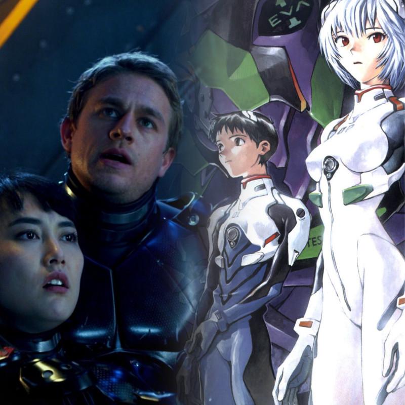 """Фантастика: """"Тихоокеанский рубеж"""" 2013 и оригинал """"Neon Genesis Evangelion"""" 1995"""