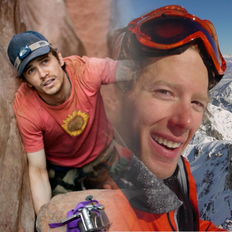 """Альпинист провалился в горную расщелину и застрял, а никто не знает, где он: """"127 часов"""" 2010"""