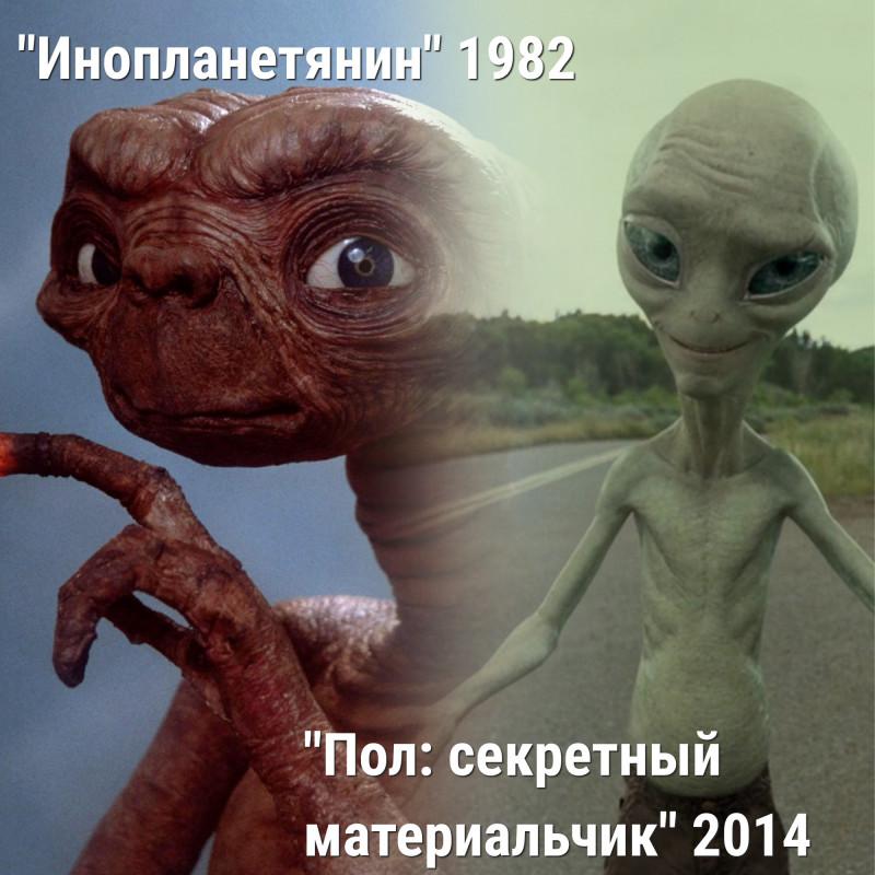 Как менялись монстры в кино: ТОП-10 лучших - Инопланетянин