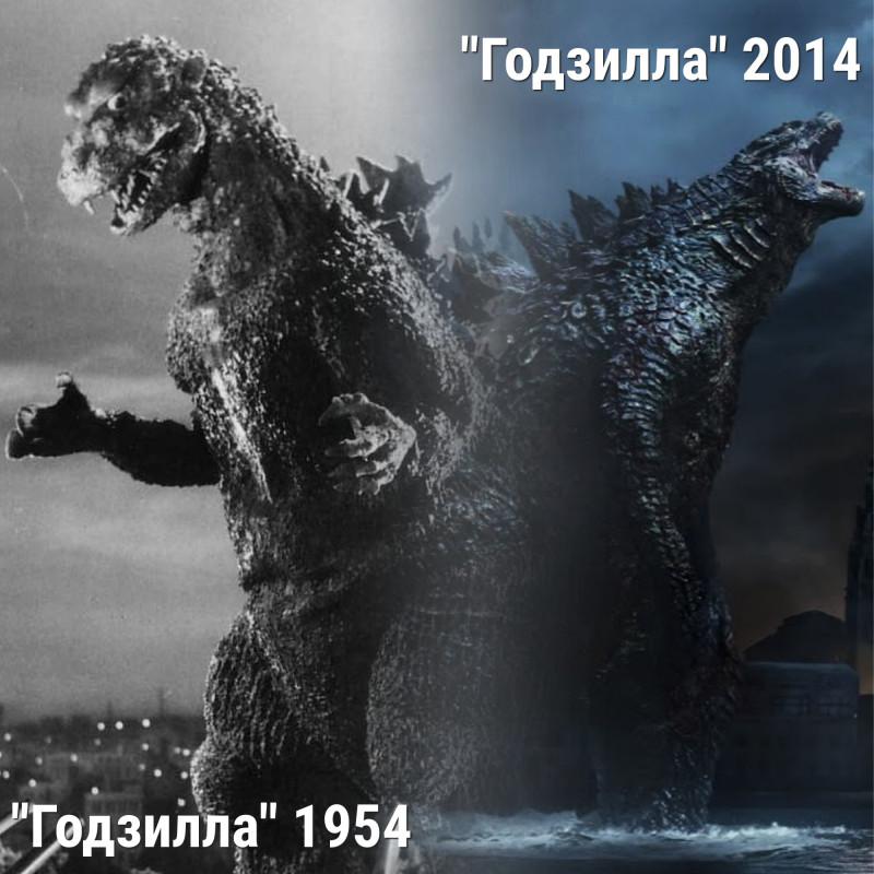 Как менялись монстры в кино: ТОП-10 лучших - Годзилла