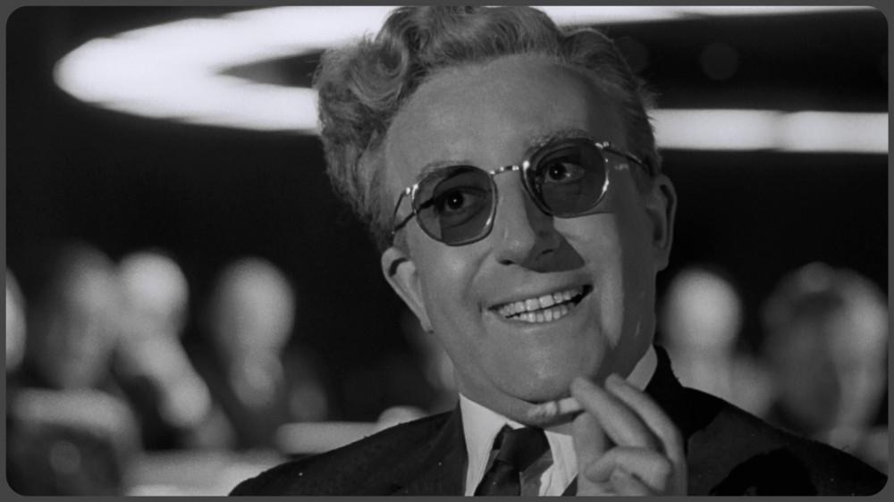 «Доктор Стрейнджлав, или Как я научился не волноваться и полюбил атомную бомбу» 1963