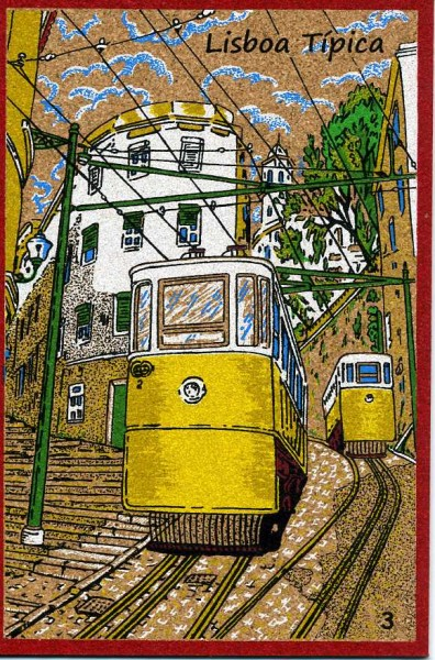 Пробковые открытки португалия