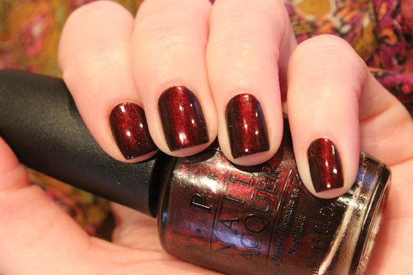 OPI royal rajah ruby 12