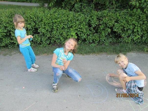дети рисуют 4