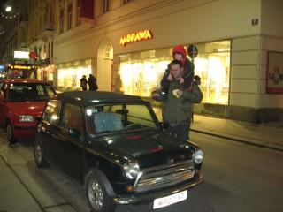 Натуральный mini на улице Вены