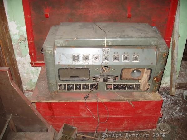 радиоузел 50-х годов