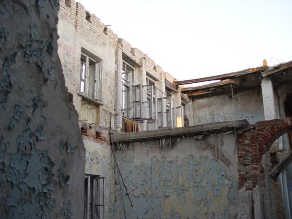 санаторий-развалины