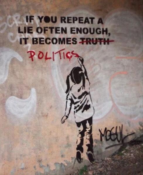 banksy-lies-politics