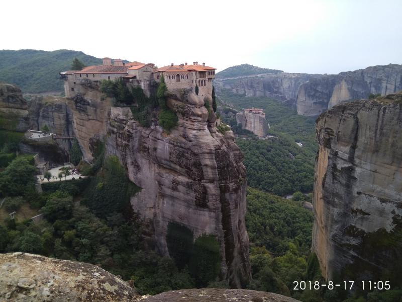 Монастыри в районе г. Каламбака