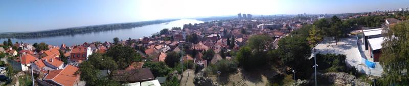 Вид на р. Дуная и Белград