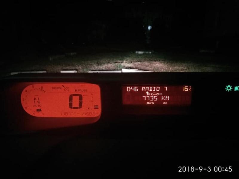 Общий пробег получился 7 735 км.