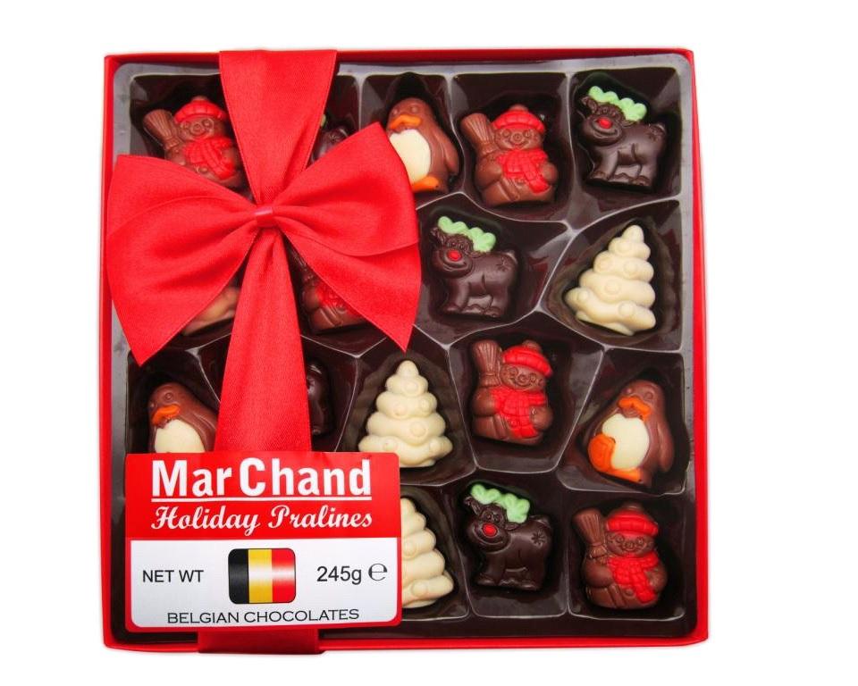 Новогодние подарки шоколад