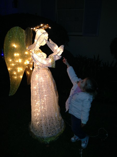 mia and the angel