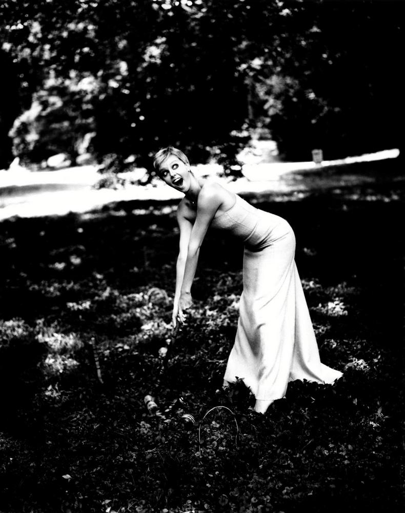 Дианна Агрон фотосессия для Galore (фотограф Эллен фон Унверт)
