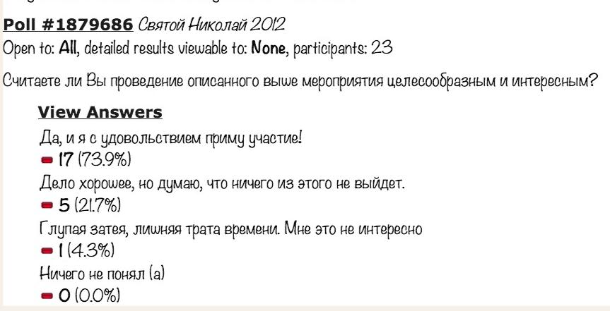 Сообщество Украинских шопАголиков - Св. Николай 2012. ОПРОС ОБЩЕСТВЕННОСТИ!