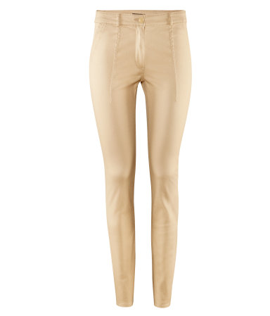 h&m high waist trousers in beige