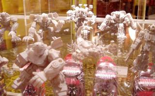 Gray Robot Heroes prototypes of movie designs!