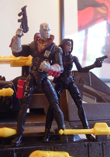 25th Anniversary Destro and the Baroness.