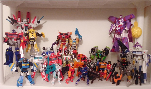 My Classics Autobot shelf